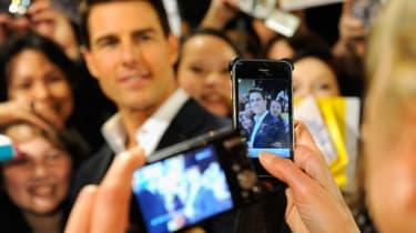 Tom Cruise Mission Impossible Ghost Protocol premiere Dubai