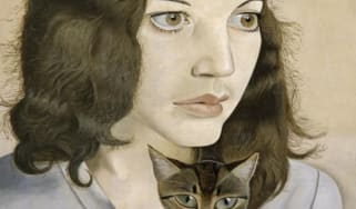 Lucian Freud's 'Girl with a Kitten' 1947 (The Lucian Freud Archive/Bridgeman Images)