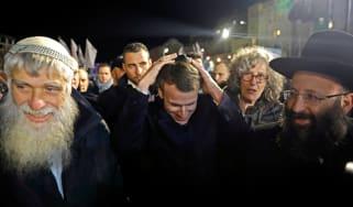 Macron in Jerusalem