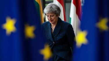 Theresa May at last week's European Council summit
