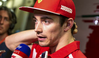 Charles Leclerc partners Sebastian Vettel at Ferrari for the 2019 Formula 1 season
