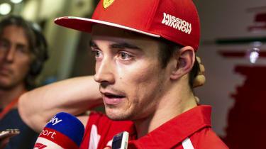 Charles Leclerc partners Sebastian Vettel at Ferrari for the 2019 Formula 1 season