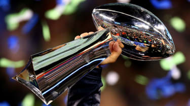 The winners of Super Bowl LV will lift the Vince Lombardi Trophy