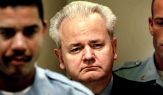 Former Yugoslav President Slobodan Milosevic was the most-high profile defendant to appear at the court