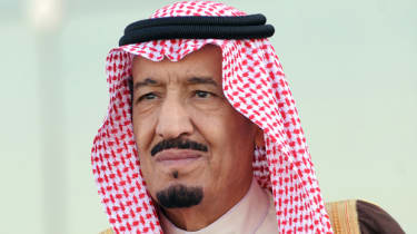 The new king of Saudi Arabia Salman bin Abdulaziz