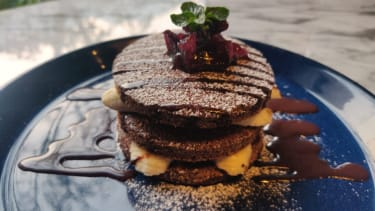 The Ragi Pancake by The Roseate Ganges