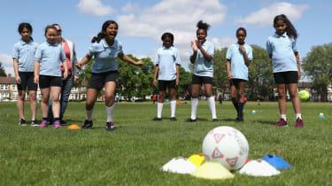 Girls sport ECB South Asian Action Plan Launch