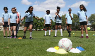 Girls sport ECB South Asian Action Plan Launch