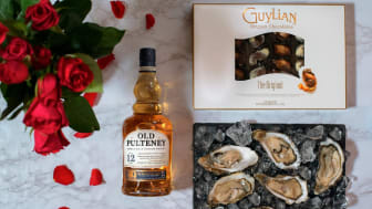 Old Pulteney's oyster, chocolate and whisky hamper