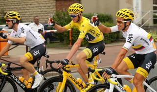 Chris Froome Team Sky Tour de France cycling