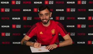 Portugal midfielder Bruno Fernandes has signed for Manchester United