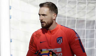 Atletico Madrid goalkeeper Jan Oblak plays international football for Slovenia