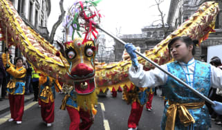 Chinese New Year celebration in Central London