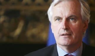 Michel Barnier, the EU chief negotiator