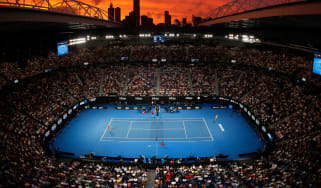 Rod Laver Arena in Melbourne will host the finals of the Australian Open tennis grand slam