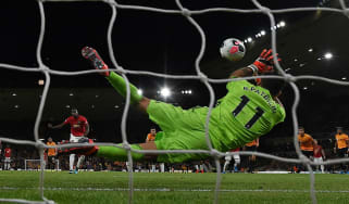 Wolves goalkeeper Rui Patricio saved Paul Pogba's penalty in the draw against Manchester United