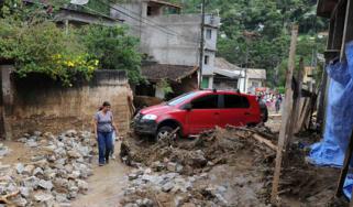 Brazil landslide