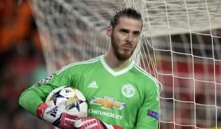 Manchester United and Spain goalkeeper David de Gea