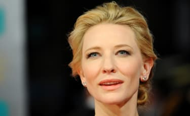 LONDON, ENGLAND - FEBRUARY 16: Actress Cate Blanchett attends the EE British Academy Film Awards 2014 at The Royal Opera House on February 16, 2014 in London, England.(Photo by Anthony Harvey