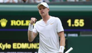 Kyle Edmund Wimbledon tennis