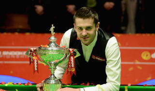 Snooker champion Mark Selby