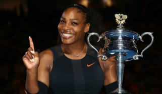 Serena Williams beat her sister Venus in the 2017 Australian Open women's singles final