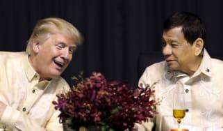 Rodrigo Duterte/Donald Trump