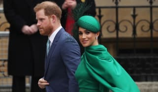 Meghan and Harry in 2020