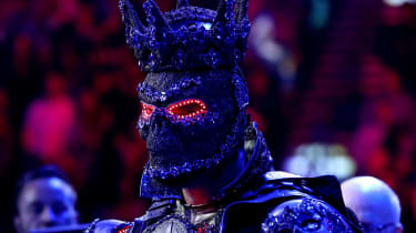 Deontay Wilder wore an elaborate costume ahead of his defeat against Tyson Fury