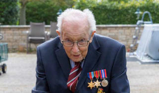 Captain Tom Moore, 99, has raised millions of pounds for the NHS