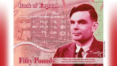 Alan Turing £50 Note