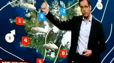 Icelandic Weatherman
