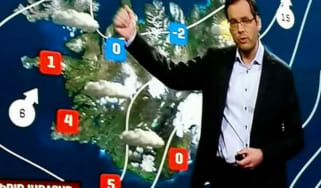 Icelandic Weatherman