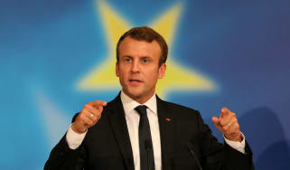 Emmanuel Macron lays out his European vision