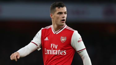 Granit Xhaka was stripped of the Arsenal captaincy