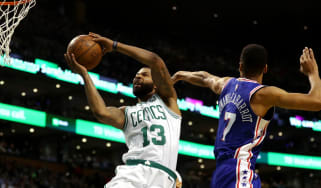 76ers v Celtics NBA London 2018 The O2