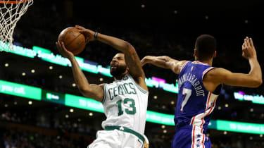 76ers v Celtics NBA London 2018 The O2