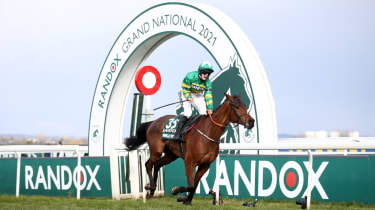 Minella Times and jockey Rachael Blackmore stormed to victory in the Grand National
