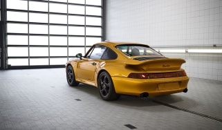 Porsche 911 Project Gold rear angle