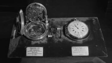 John Harrison's chronometer which won the original Longitude Prize in 1714