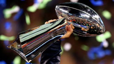 The Patriots and Rams go head-to-head to lift the Vince Lombardi Trophy at Super Bowl LIII