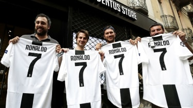 Cristiano Ronaldo transfer Juventus Real Madrid