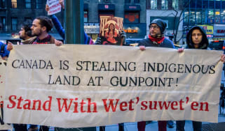 Canada protests