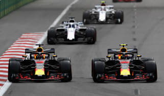Red Bull crash F1 Azerbaijan Grand Prix