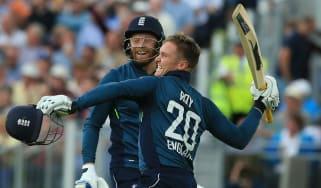 Jason Roy Jonny Bairstow England vs. Australia ODI