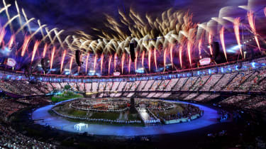 The opening ceremony of the London 2012 Olympic Games