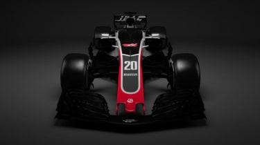 Haas F1 Team 2018 car VF-18