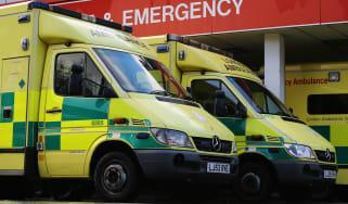 NHS ambulances and A&E