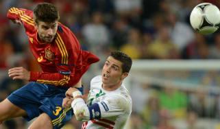 Portugal vs. Spain Cristiano Ronaldo World Cup group B