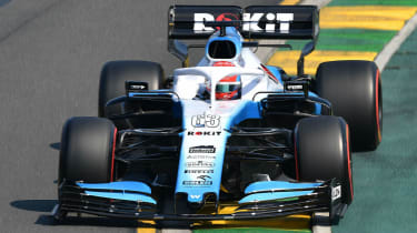 ROKiT Williams Racing driver George Russell finished 16th at the 2019 F1 Australian GP
